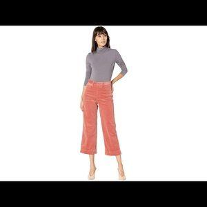 NWT MADEWELL Slim Emmett Wide-Leg Corduroy Pants